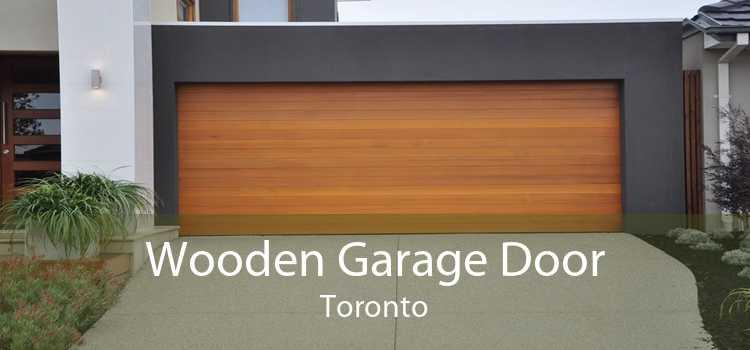 Wooden Garage Door Toronto